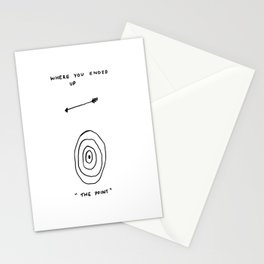 Unqualified Advice 8: Sometimes missing the point is the point Stationery Cards