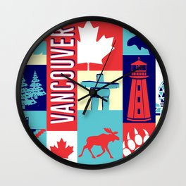 my vancouver Wall Clock
