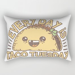 EVERY DAY IS TACO TUESDAY Rectangular Pillow