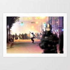 Napoleon Riot Art Print