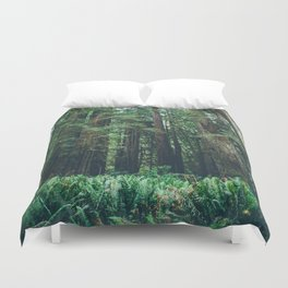Redwood Forest  Duvet Cover
