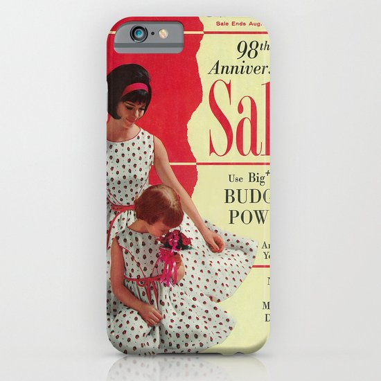 1963 - 98th Anniversary Sale -  Summer Catalog Cover iPhone & iPod Case