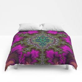 Fractal Abstract 73 Comforters