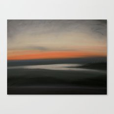 Red Glow Canvas Print