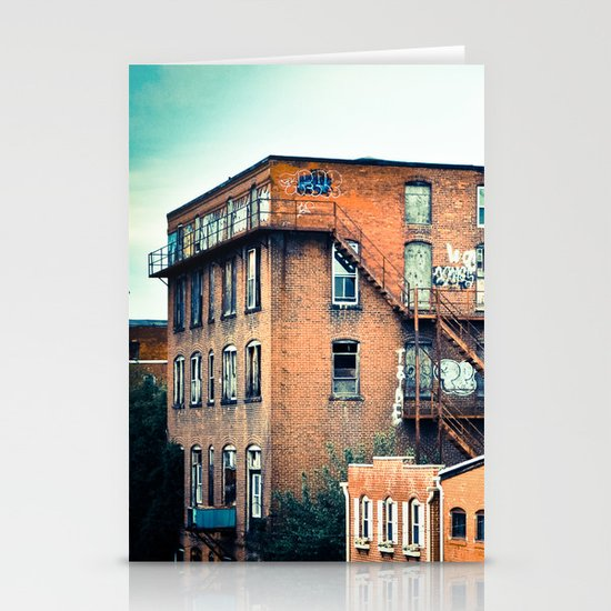 View from a Bridge Stationery Cards