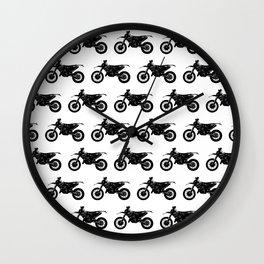 Dirt Bikes Wall Clock