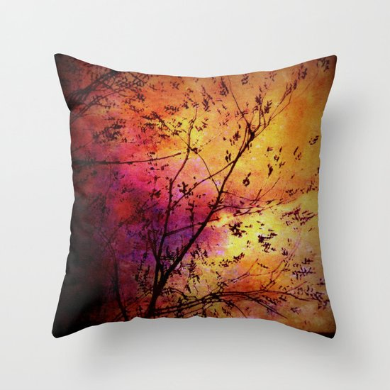 The storm (later that very evening) Throw Pillow