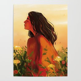 Lorde Sunset Poster