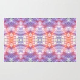 Mountain Diamonds Kaleidoscope Collage Rug