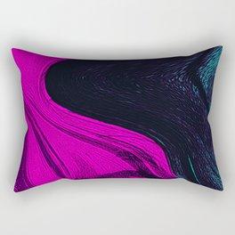 Liquid pink abstract Rectangular Pillow
