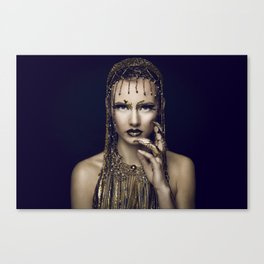 Egyptian bling Canvas Print