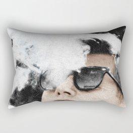Cool John Kennedy Cigar Sunglasses Rectangular Pillow