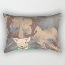 Herne the Hunter Rectangular Pillow