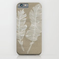 white feathers iPhone 6s Slim Case
