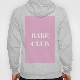 Babeclub pink Hoody