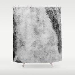 The hidden waterfall Shower Curtain
