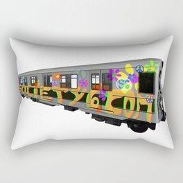 subway art Rectangular Pillow