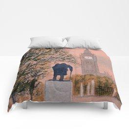 Churchill And Big Ben Comforters