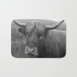 Highland cow I Bath Mat