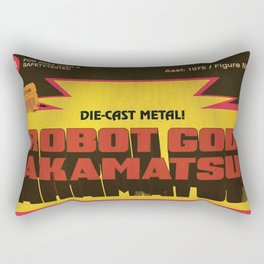 Robot God Akamatsu toybox art! Rectangular Pillow