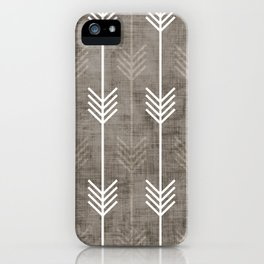 dirty arrows iPhone Case