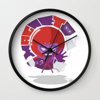 magneto Wall Clocks featuring Magneto (style) by Seez