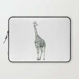 Giraffe Biro Drawing Laptop Sleeve