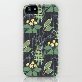 Woodland Flowers iPhone Case