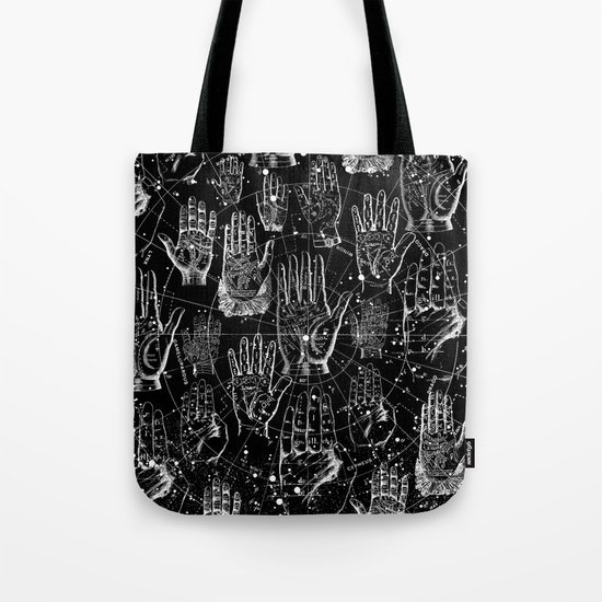 PALMISTRY Tote Bag