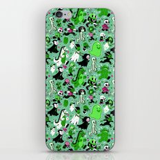 Alt Monster March (Green) iPhone & iPod Skin