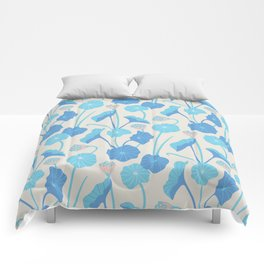 LOTUS POND Pattern Comforters