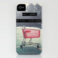 Grocery Cart Rage  iPhone (4, 4s) Slim Case