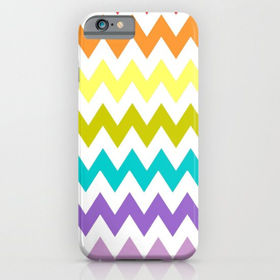 Rainbow Chevron iPhone & iPod Case