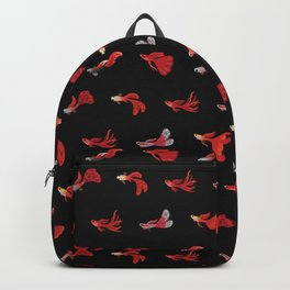 Red guppy Backpack