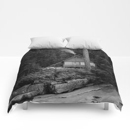 Cabin Smoke Comforters