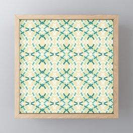 Bamboo Ripple Framed Mini Art Print