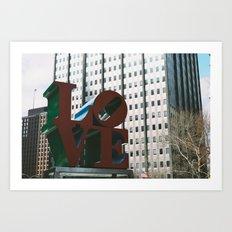 Philly Love [2] Art Print