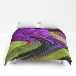 Violet Swirl Comforters