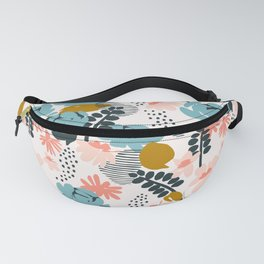 late summer floral Fanny Pack