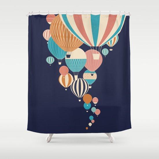 Balloons Shower Curtain