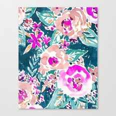 FULL ON FLORAL Canvas Print