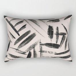 Tribal pattern nuetral Rectangular Pillow