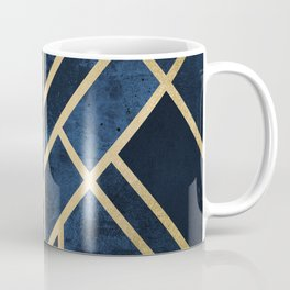 Art Deco Midnight Coffee Mug