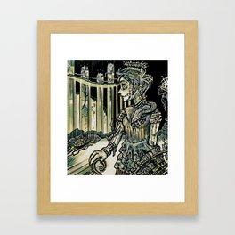 Wax Palace Framed Art Print