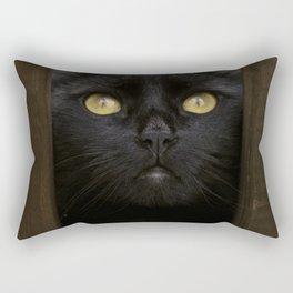 Peeking Rectangular Pillow