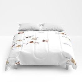 Beagles hunting Comforters