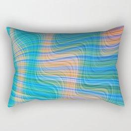 Topsy turvy waves Rectangular Pillow