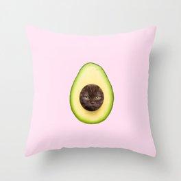 AvoCATo Throw Pillow