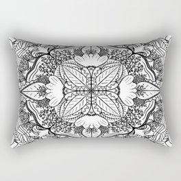 Nature in Symmetry Rectangular Pillow