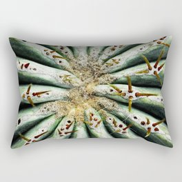 Rich green Rectangular Pillow